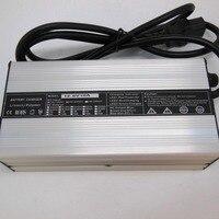 Alumínio de alta qualidade 12 v (12.6 v) 10amp li-ion/lipoli carregador de bateria e-bike carregador para 3 s li-ion baterias