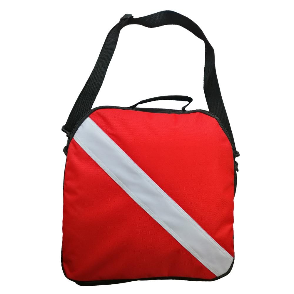 Scuba Diving Breathing Regulator Gear Bag Zipper Carrying Handle Bag With Shoulder Strap Professional Diver Bag