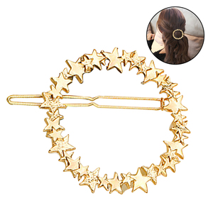 Hair Barrette Fashionable Decorative Stars Hair Clip Hair Pin Hair Accessories for Girls Women
