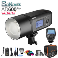 Godox ad600 pro wittro tudo-em-um flash ao ar livre ad600pro li-na bateria ttl hss com built-in godox 2.4g + xpro transmissor