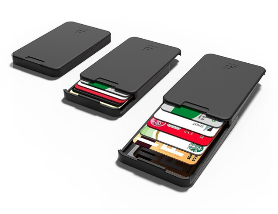 Zenlet New Arrivals The Ingenious Wallet BLACK with RFID Blocking Card The MINIMALIST &  ...