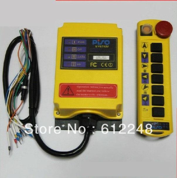 1 передатчик + 1 приемник, 220 В промышленных Беспроводной дистанционного управления. crane передатчик, подвеска переключатель, пульт дистанцион