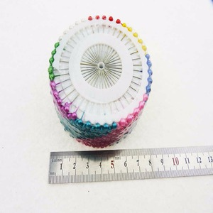 480pcs Knitted tools multicolour drop pins jospin pearl fitted bead needle patchwork tools Needlework Kits(China)