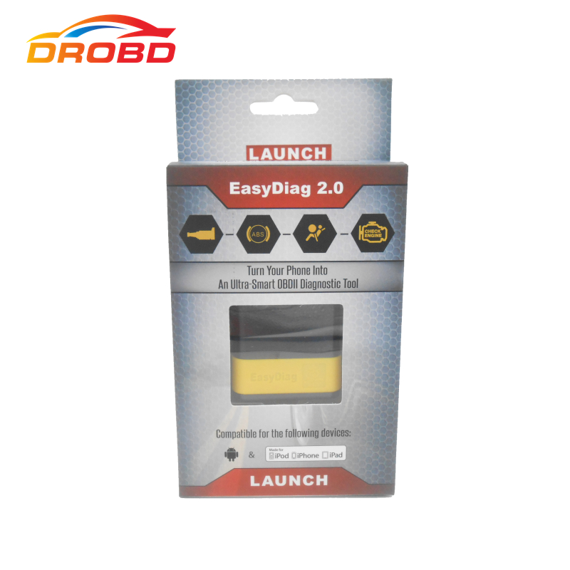 Free Shipping 2013 New Arrival 100 Original Launch EasyDiag Code Reader Scanner Easy Diag Work
