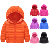 Light children's winter jackets parkas Kids Duck Down Coat Baby jacket for girls parka Outerwear Hoodies Boy Coat Outwear