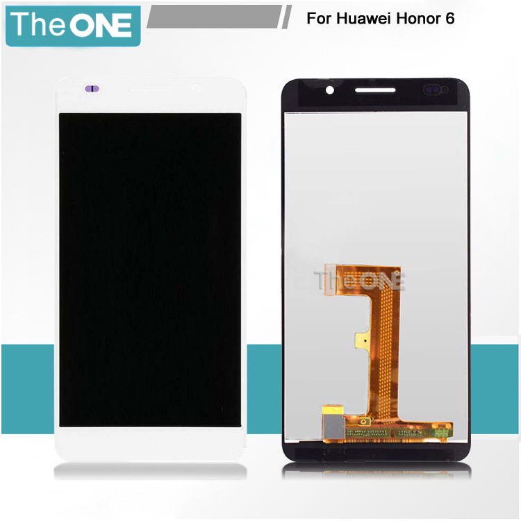 WHITE or BLACK LCD screen display+Touch digitizer For Huawei Honor 6 H60-L02 H60-L12 H60-L04 Free Shipping