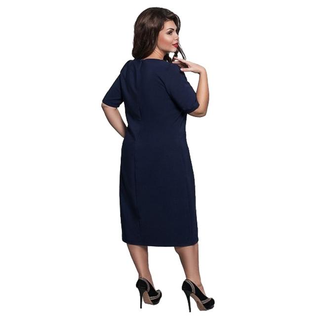 Women Summer Rose Embroidery Dress Women Casual Loose Elegant Short Sleeve Dresses Vestidos Plus Size