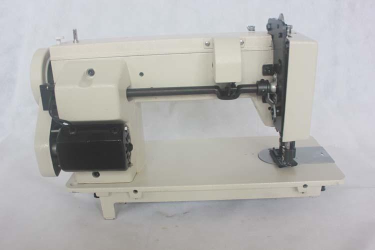Portable Walking Foot Zigzag Stitch 40'' Arm Sewing Machineleather Interesting Portable Tarp Sewing Machine