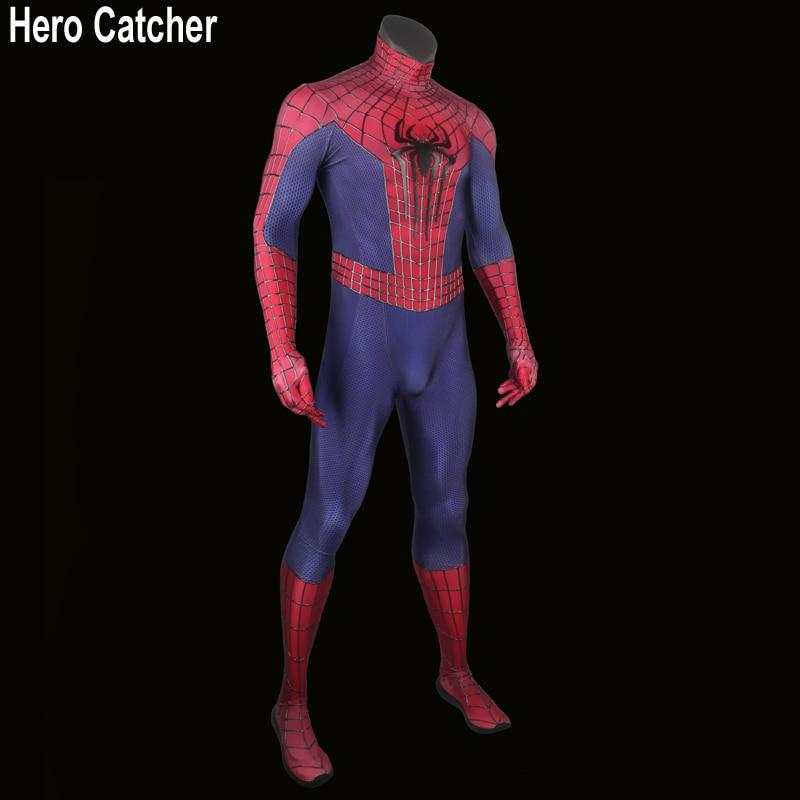 Ήρωας Catcher Spiderman κοστούμι Ενηλίκων 3D - Καρναβάλι κοστούμια - Φωτογραφία 2