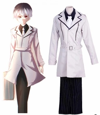 2018 New Japanese Anime Tokyo Ghoul: re Sasaki Haise Cosplay Costume Kaneki Ken Unisex Uniform Custom Made Any Size