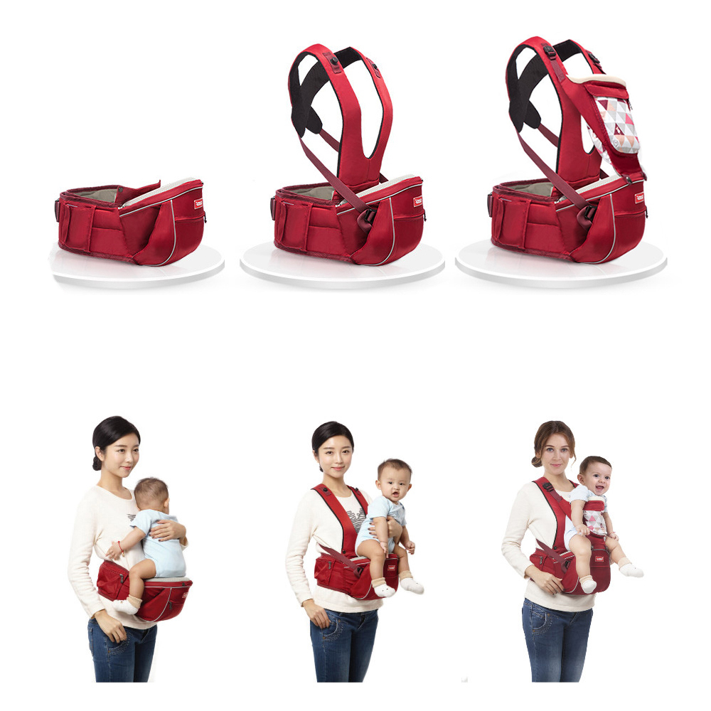 SUNVENO New Design Infant Toddler Ergonomic Baby Carrier with Hipseat For Baby Infant Toddler Kids 0-36M baby carrier children waist stools hipseat backpacks for 4 36m baby infant toddler kids four seasons autumn shoulder straps
