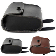 1pc Universal Synthetic Leather Tool Bag Bar BagMount Luggage Saddle Motorcycle Bicycle Pouch Ample Space