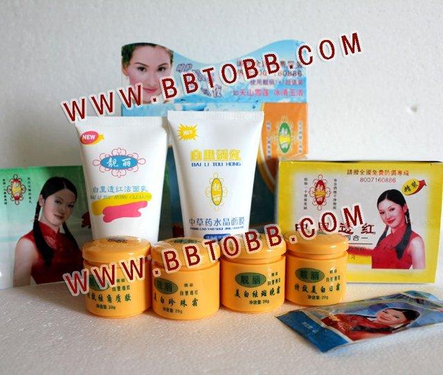 Bailitouhong (4 en 1) + Belleza Crystal Mask + Bailitouhong Limpiador Primera Generación ~ ~ venta Original'Hot