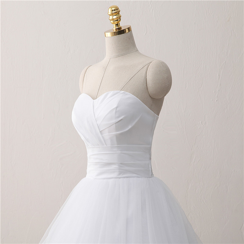 Princess A Line White Wedding Dress