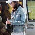 Street style 2016 New Fashion Women Denim Jacket With Tassel Decorated Slim Jean Jackets Coat 1395 Women Basic Coats