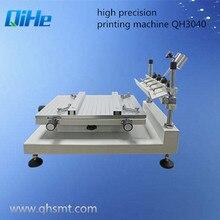 SMT производство QH3040 Высокоточный трафарет принтер, трафаретная печатная машина(300*400 мм) припой принтер