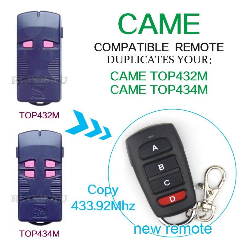 Пришел дистанционного управления пришел TOP432M пришел TOP434M Smart Универсальный пульт дистанционного управления Дубликатор 433.92 мГц двери гаража...