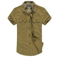 XL-8XL Plus Size Solide Shirts Männer Fitness Baumwolle Kleidung Männer Casual männer Shirt Schwarz, Khaki XL XXL XXXL 4XL 5XL 6XL 7XL 8XL