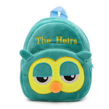 2018 Cartoon Kids Plush Backpacks Baby Mini Schoolbag Hello Kitty kindergarten Backpack Cute Children School Bags for Girls Boys(China)