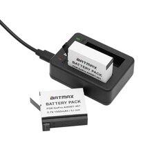 Carregador de Bateria plus para Baterias 2 Pcs 1500 Mah Gopro Hero 4 Ahdbt 401 Acessórios DA Câmera Ação IR Pro Hero4