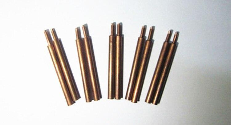 Welding needles for welding pen of spot welder s787a, s788h, s709a, Solder pin, 5pairs/Lot