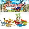 24 unids 2 pulgadas Mini Jurásico colorido dinosaurio juguetes niños dinosaurio fiesta Favor decoración Pinata relleno niños cumpleaños Goody bolsa