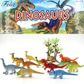 24Pcs 2 inch Mini Colorful Jurassic Dinosaur Toys Kids Dinosaur Party Favor Decoration Pinata Filler Boys Birthday Goody Bag