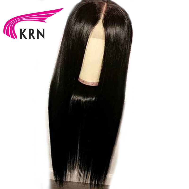 Transparent lace 13x6 Silky Straight Lace Front Human Hair Wigs Hair Natural Hairline Bleached Knot Peruvian