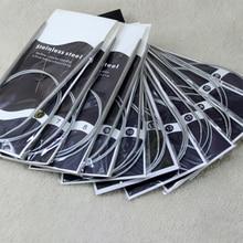 Круговые крючком популярные спицы для вязания ткачество булавки нержавеющая сталь 1 шт. Вязание булавки инструменты для шитья высокое качество