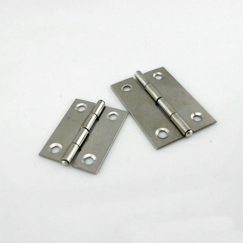 HQ Folding Type 10Pairs/Lot Door Hardwares Stainless Steel 55MM Length Door Hinges