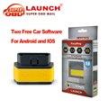 Promoção preço original launch x431 easydiag 2.0 plus para ios & Android 2 EM 1 com 2 Veículo Software livre dowoload Frete navio