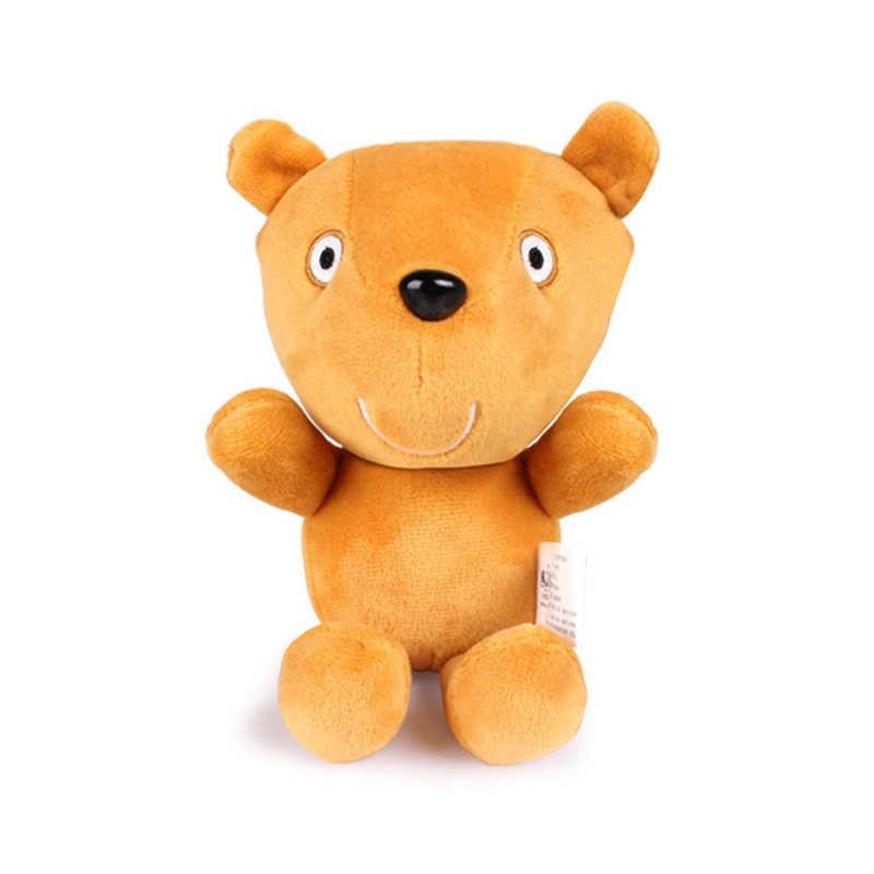 Original 30 centímetros Boneca Bonito George Peppa Pig Menina Dinossauro Macio Urso de Brinquedo de Pelúcia Boneca Bonito Crianças Brinquedos De Pelúcia Novo venda quente