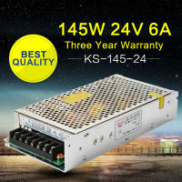 AC DC 24V Power Supply DC24V 145W Switching Power Supply Driver For LED Strip Light Radio