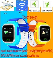 2016 Kid Safe GPS Track Watches Touch Screen 1 22 Wristwatch G72 SOS Call Finder Locator