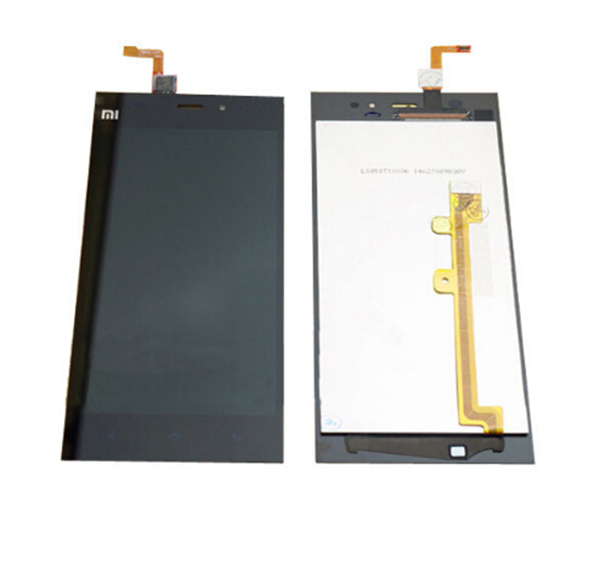 TDS-CDMA 100% Original LCD Display +Digitizer touch Screen FOR Xiaomi m3 mi3 Assembly with front frame/bezel Free Shipping