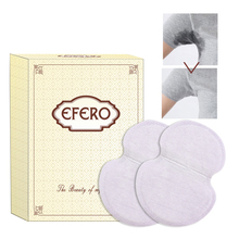 efero 20pcs Disposable Underarm Sweat Guard Pad Armpit Sheet Liner Dress Deodorants Absorbent Pads Perspiration Sweat Pads 50pc disposable underarm pads armpit absorbent pads dress sweat perspiration pads shield underarm armpits sweat pads deodorant