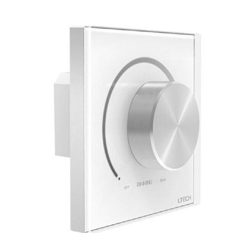 LTECH 0-10 V sortie AC 110 V/220 V entrée E610P 5A alimentation à découpage manuel bouton panneau montage mural gradateur pour LED couleur simple la lumière