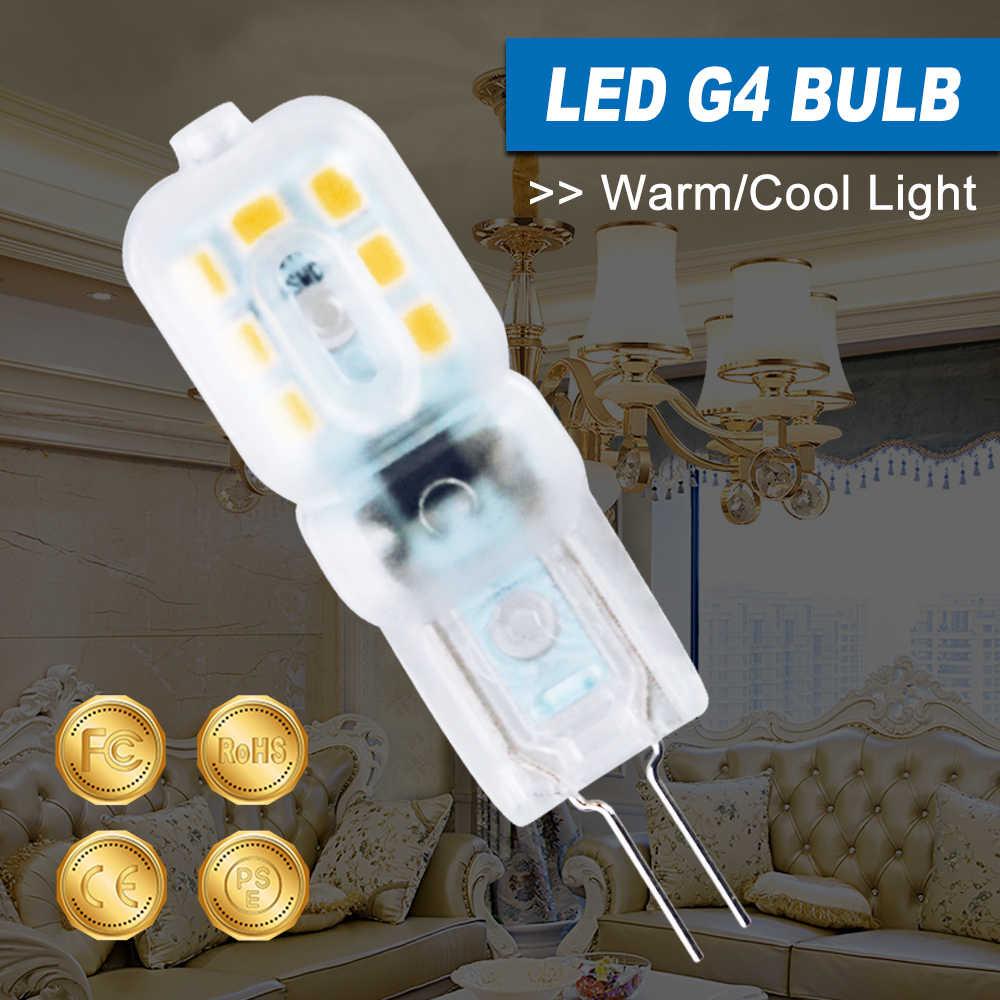 10PCS G4 LED Dimmable Light 3W Bombilla G9 LED Bulb 5W Corn Bulb g9 LED Lamp 220V Spotlight For Chandelier Replace Halogen Lamp