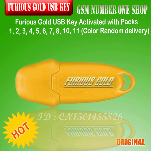 Furious Gold USB Key Activated With Packs 1, 2, 3, 4, 5, 6, 7, 8,  11