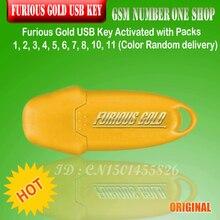 זהב עצבני USB מפתח הופעל עם חבילות 1, 2, 3, 4, 5, 6, 7, 8, 11