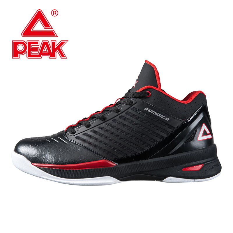 PEAK SPORT Speed Eagle FIBA World Cup Men Basketball Shoes Breathable Athletic Sneakers Cushion-3 REVOLVE Tech Boots EUR 40-48 peak sport monster ii men basketball shoes foothold tech sneakers breathable training athletic durable rubber outsole boots