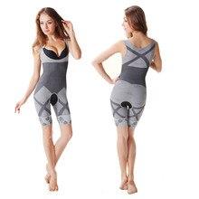 Woman Slim Shaper One Piece Bodysuit Shapewear Lady Underbust Body Shaper Lingerie Plus Size Waist Trainer Modeling Underwear