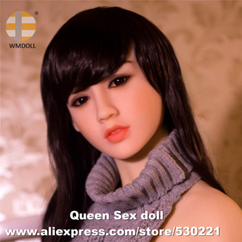 WMDOLL NEW Top Quality Full Silicone Sex Doll Head, Artificial Love Dolls Heads For Japanese Human Dolls Oral Sexy Toy