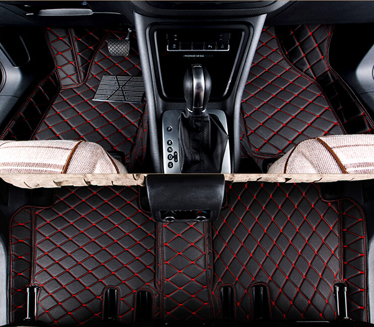 Good! Custom special floor mats for Toyota Highlander 5 seats 2013-2007 waterproof carpets for Highlander 2017,Free shipping