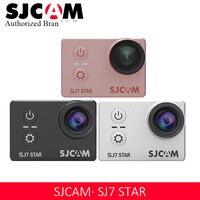 SJCAM SJ7 Star 4 K с Wi Fi 30 P 2' Сенсорный экран удаленного экшн Спортивная камера для шлема Водонепроницаемый Ambarella A12 чип видеокамера SJCAM SJ7