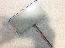 "Nueva 6.0 ""pulgadas de 149*80mm Paneles de la Pantalla Táctil Resistiva de 4 hilos de 149mm * 80mm GPS pantalla Táctil del panel digitalizador reemplazo de la Reparación"