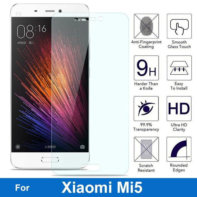 For Xiaomi MI5 5 Tempered Glass Screen Protector 9H 2.5 Safety Protective Film On Xiaomi5 Libra M5 Mi-5 M Five Pelicula De Vidro