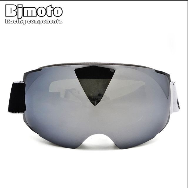 fc24ccde87 BJMOTO Professional Magnet Ski Goggles Double Lens UV400 Anti-fog Adult Snowboard  Skiing Glasses Women