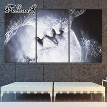 FULLCANG triptych mosaic embroidery couple kissing diy 5d diamond painting cross stitch kits full square drill 3pcs G1194