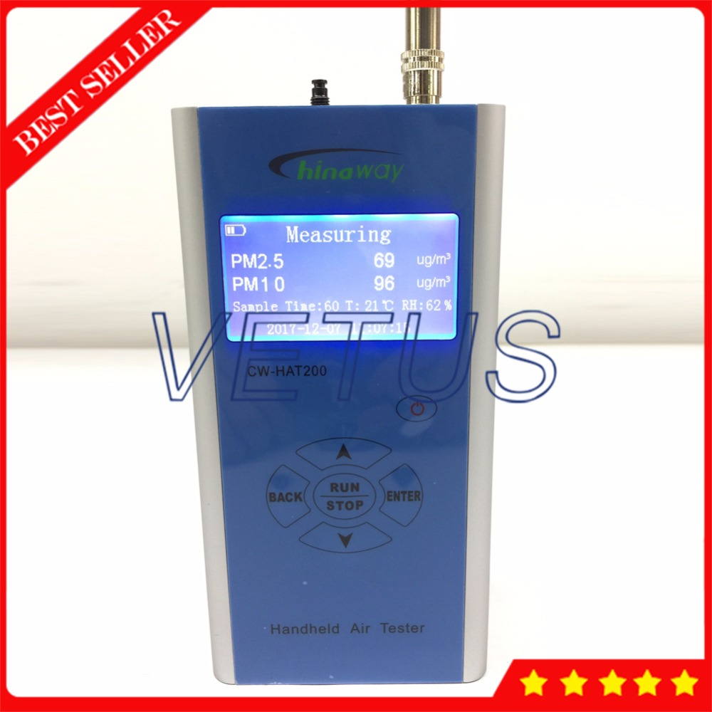 Handheld Portable Particle Counter CW-HAT200 pm2.5 pm10 detector with air quality monitor handheld laser portable high quality indoor air quality detector page 6